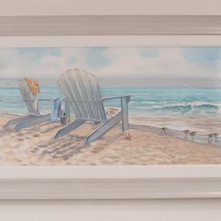 Adrondak Chair Print