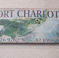 Port Charlotte Sign