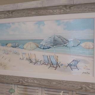 Beach Umbrella Print