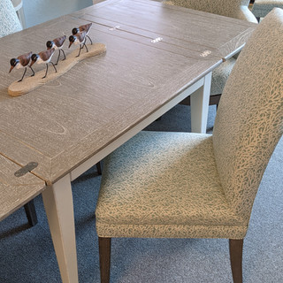 Easton Breakfast Table & Parsons Chairs