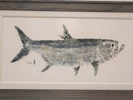 Gyotaku Prints