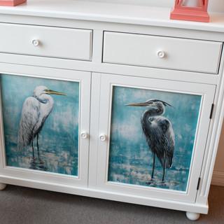 Bird Accent Cabinet