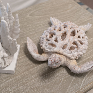 Coral Table Decor