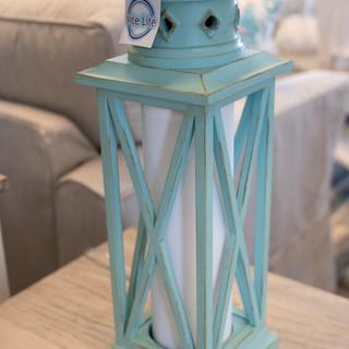 Aqua Galvenston Lamp