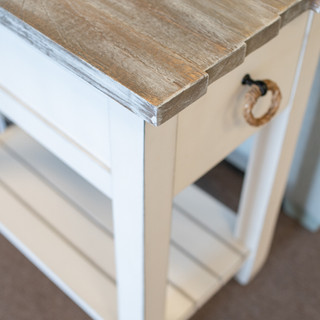 Picket Fence Chairside Table