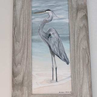 Heron Mini Print