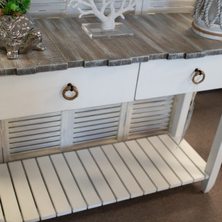 Picket Fence Console Table