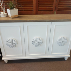 Shell Accent Cabinet
