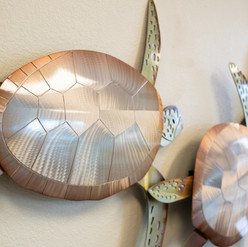 Turtle Metal Wall Hanging