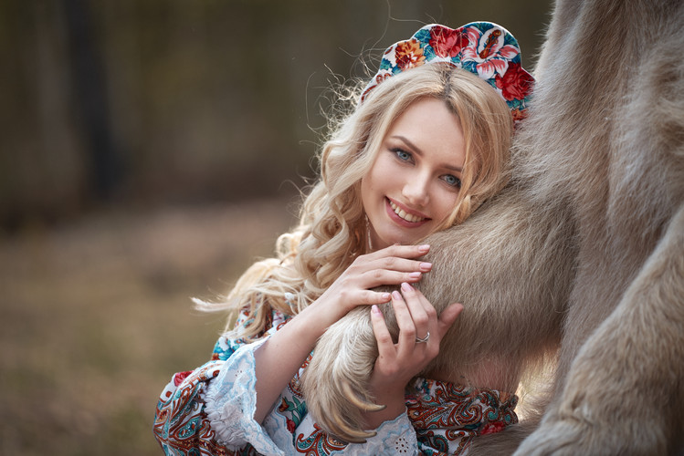 Фотосессия с медведем Степаном