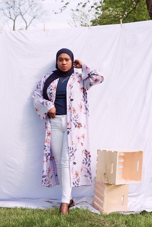 Lilac Kimono