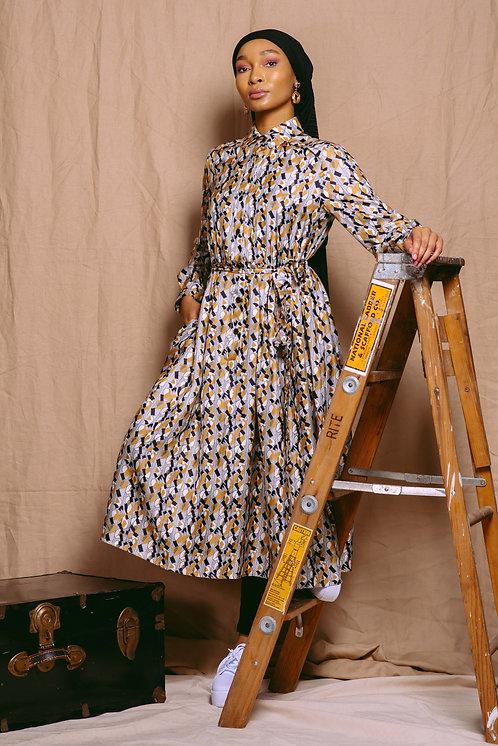 Quinntessa Print Dress