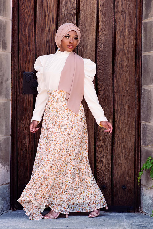 Ellia Floral Maxi Skirt