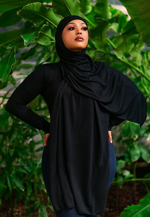 Premium Black Jersey