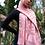 Thumbnail: Pastel Pink Striped Chiffon