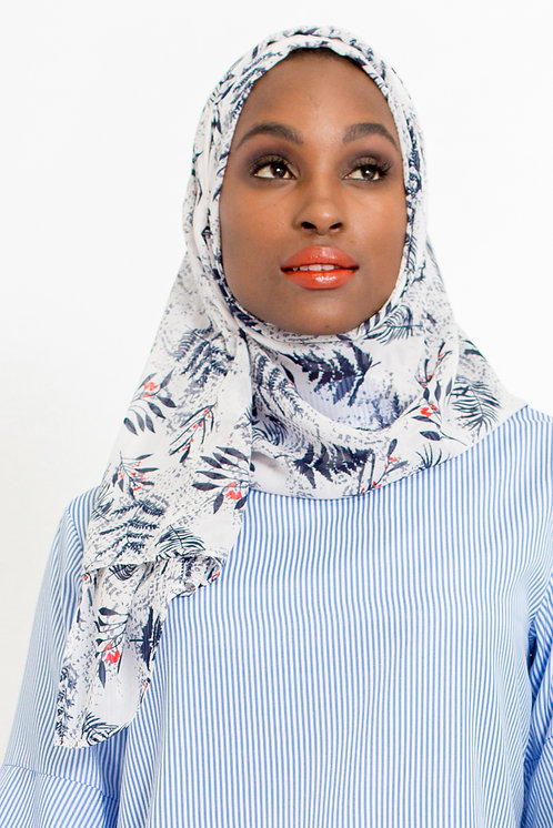 Printed Chiffon Hijab