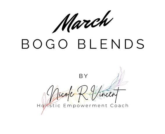 March BOGO Blends
