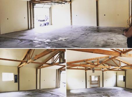 Renovating My New Bend Studio