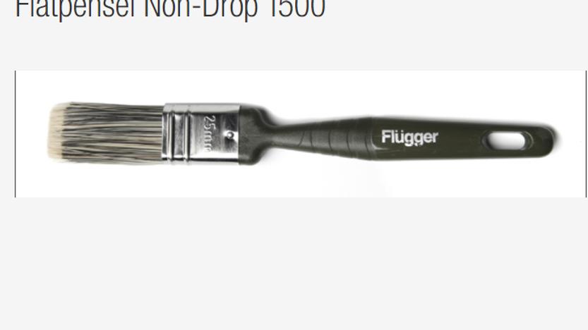 Flatpensel Non-Drop 1500