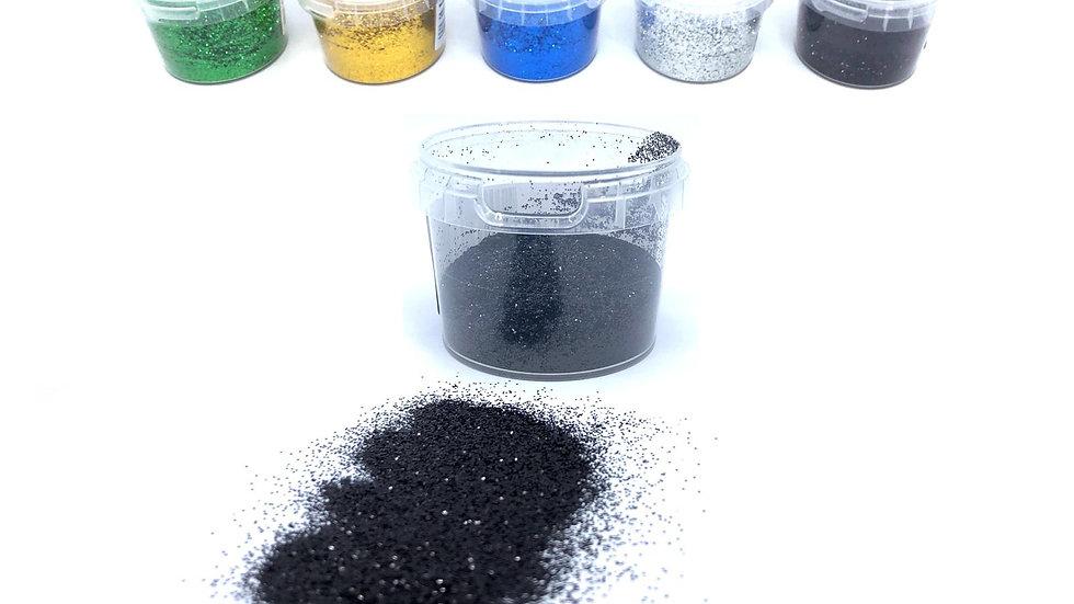 Metall glitter - 5 stk. forskjellige farger