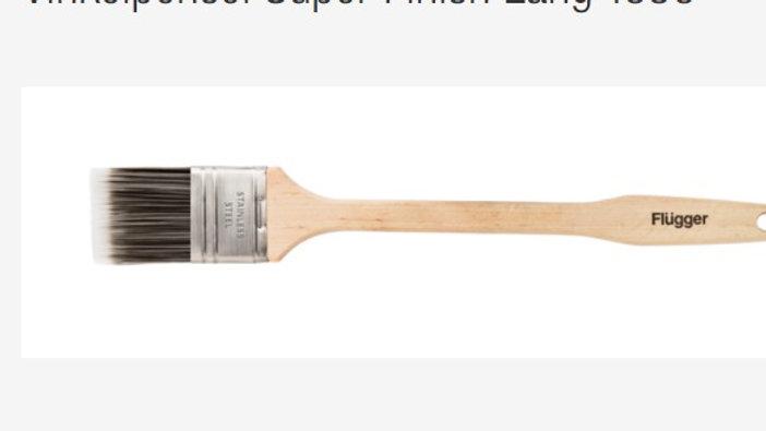 Vinkelpensel Super Finish Lang 1836