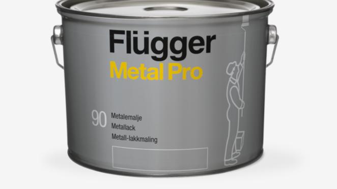 Metall-lakkmalingblank