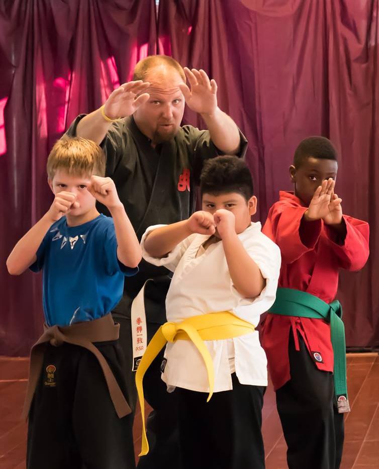 Alex Pelish's Karate class