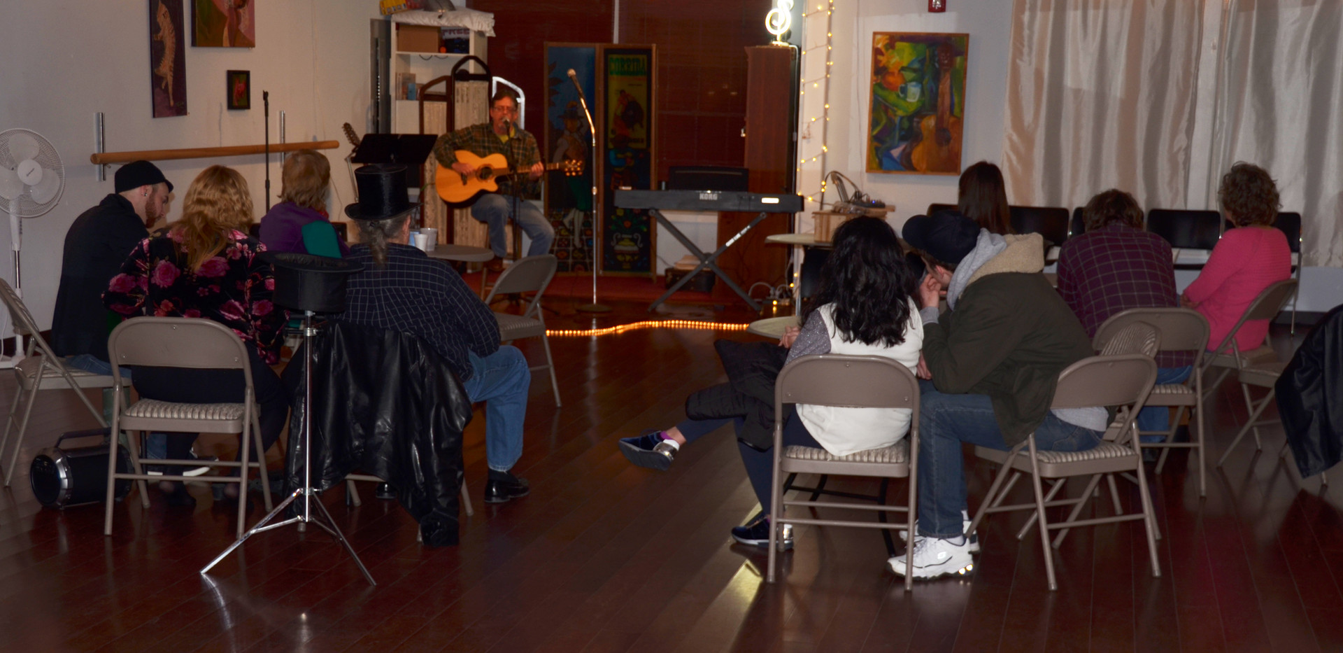 Our largest Open Mic yet