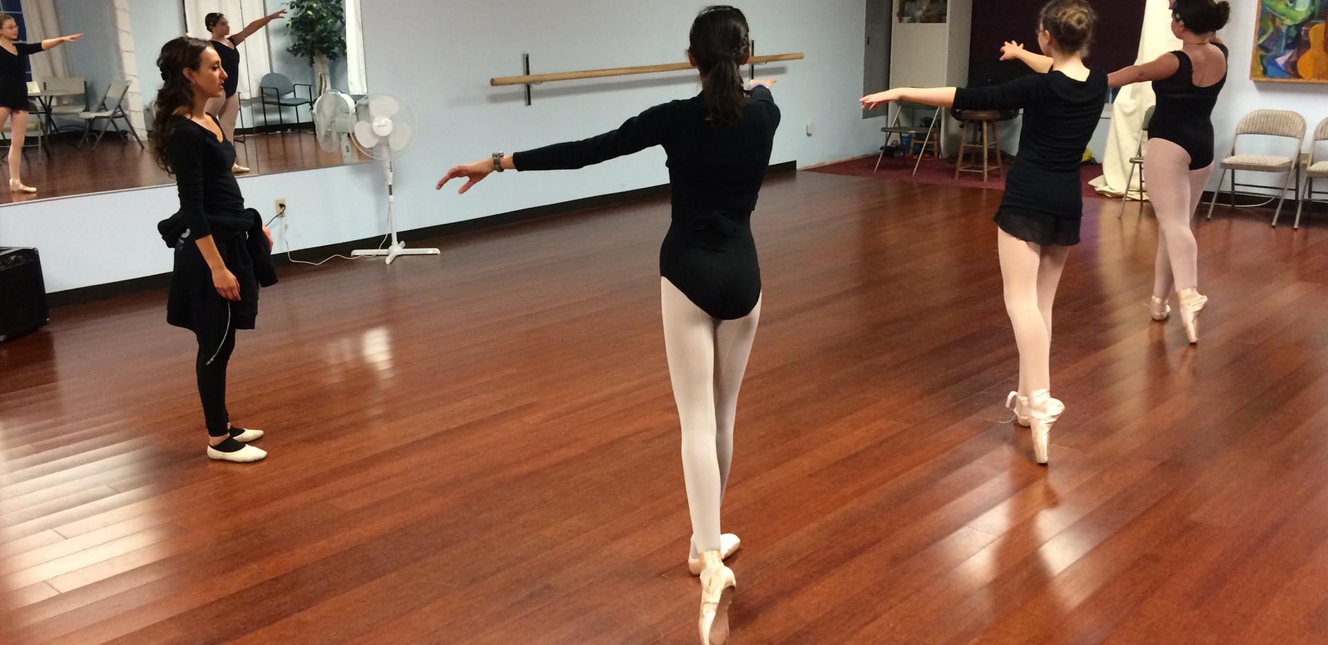 Analiese Umana's Ballet students - 1