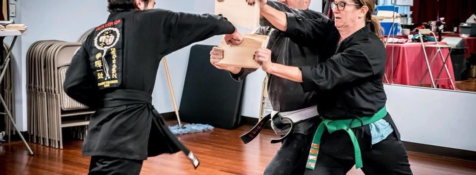 Alex's Ken Zen Ichii class
