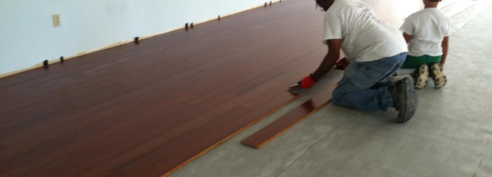 Floor Installation - pic 1