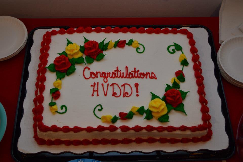 Grand Opening cake.