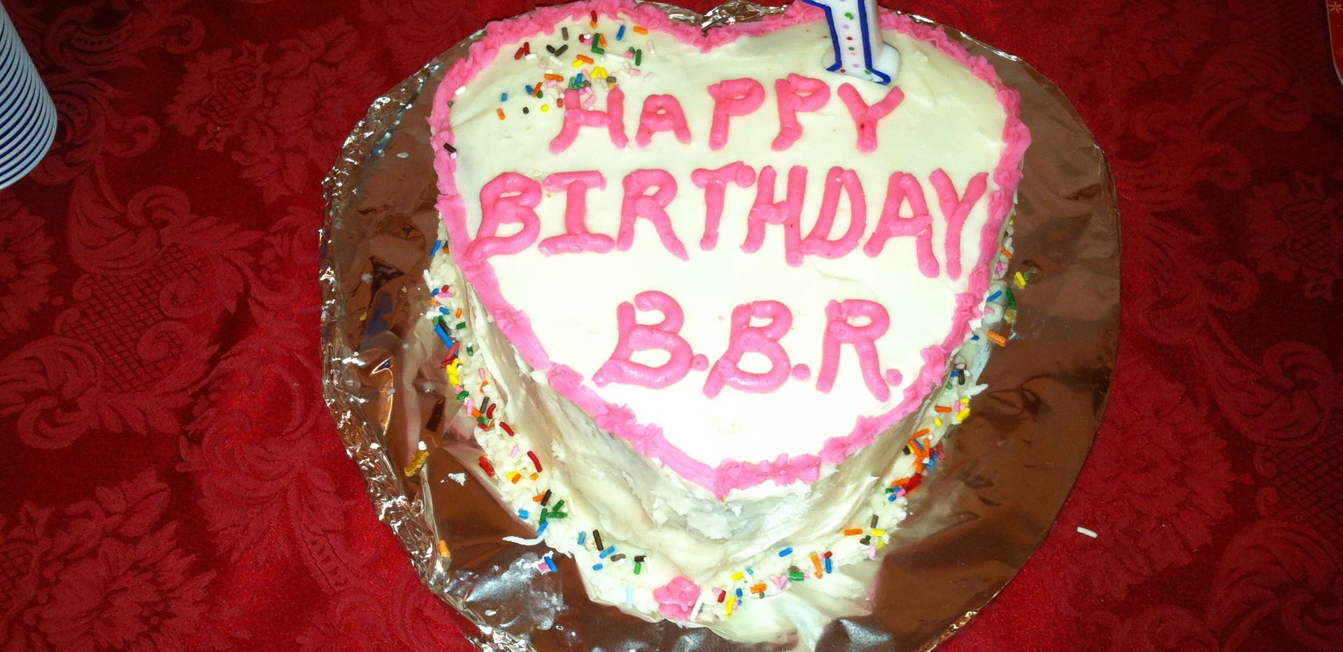 B.B.R. cake