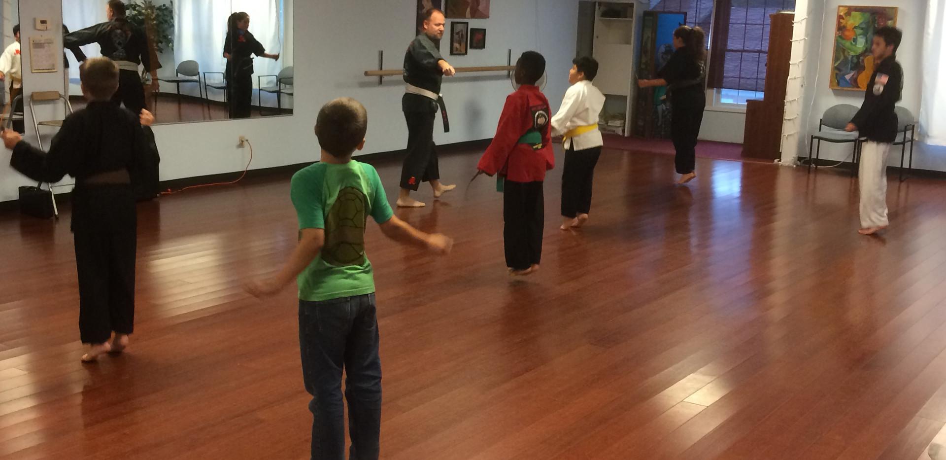Alex's Karate Class grows