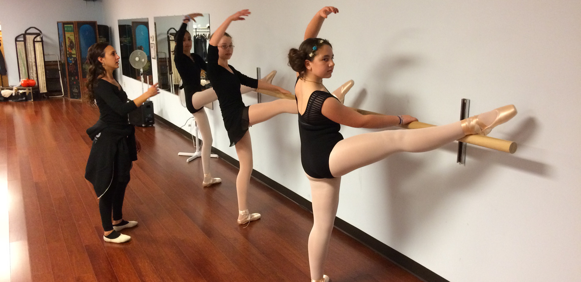 Analiese Umana's Ballet students - 2