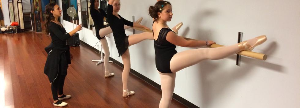 Analiese Umana's Ballet students - 2