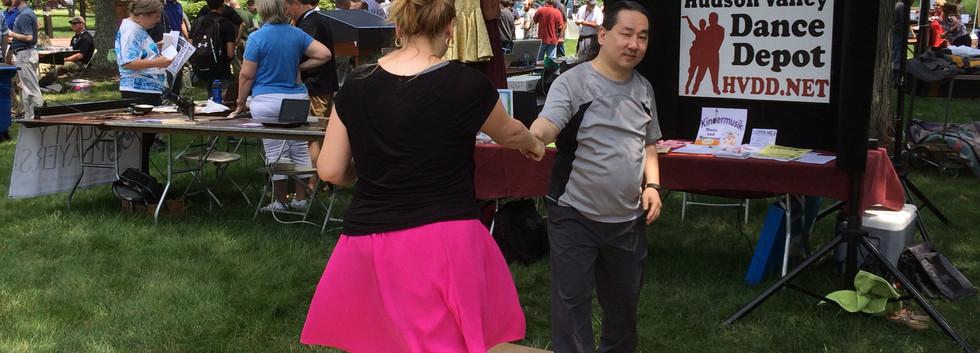 Julie and Jun at IBM day