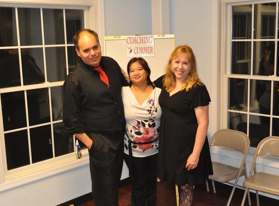 Joe, Ruth and Julie