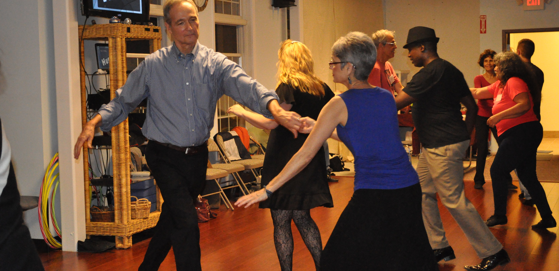Our first HVCD Ballroom party on new floor - 2