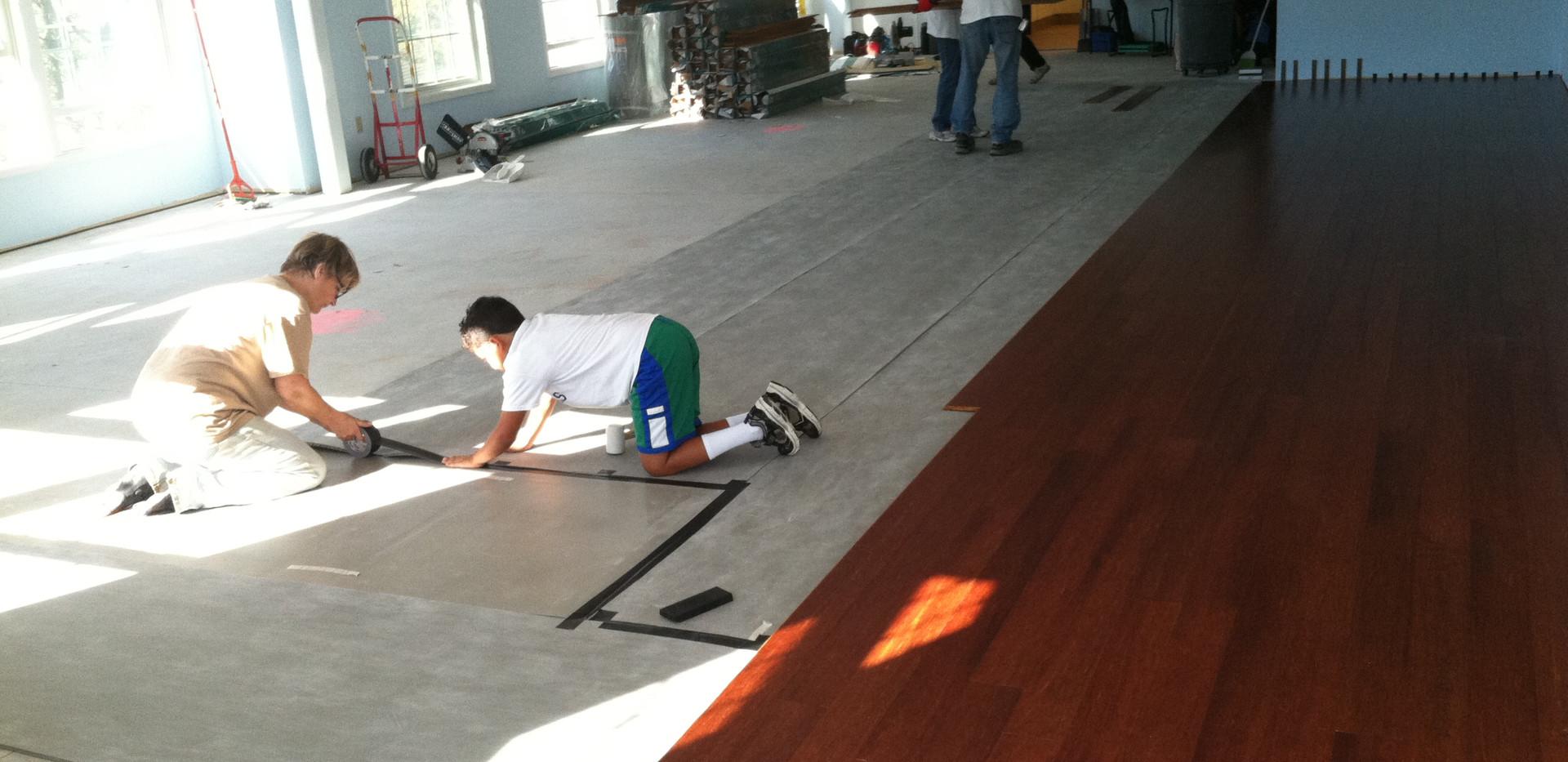 Floor Installation - pic 3