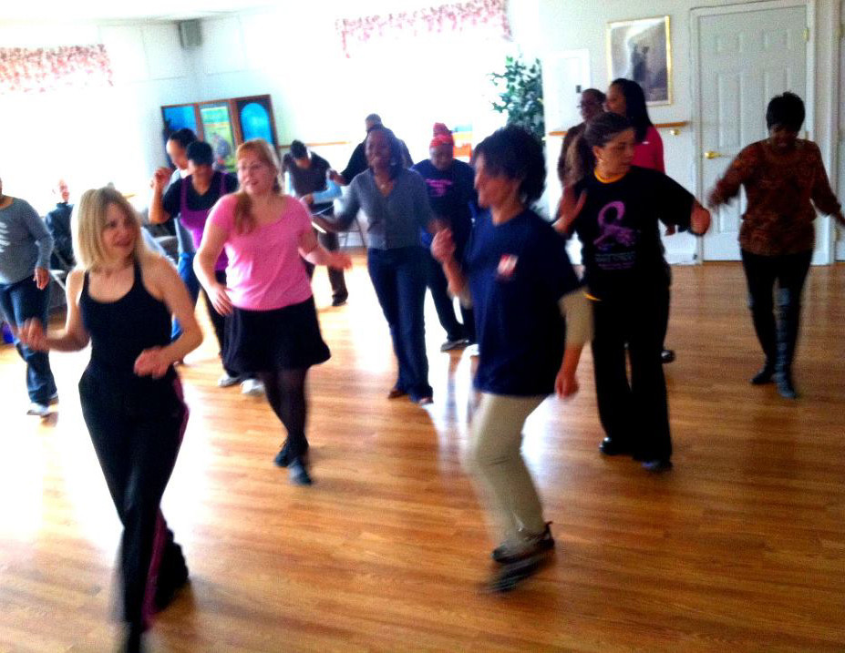 Line Dancing Class with Krista Brown