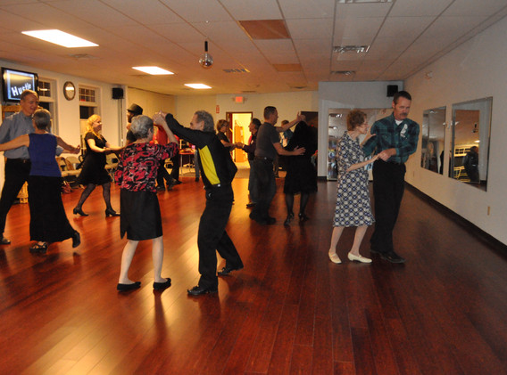 Our first HVCD Ballroom party on new floor - 1