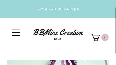 Comment commander sur bbminecreation.com avec son mobile ?