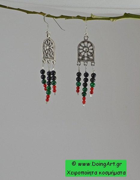 Σκουλαρίκια σε Αρχαϊκή φόρμα.