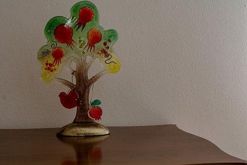 Δέντρο από φυσητό γυαλί μεγάλο
