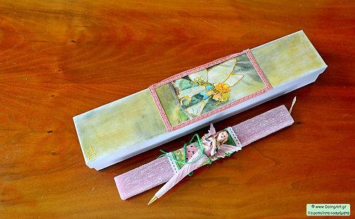 Λαμπάδα με Νεράιδα σε στυλό