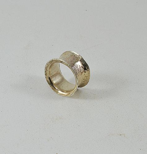 Σφυρήλατο Ασημένιο δακτυλίδι Νο 1