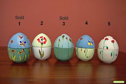 Ζωγραφισμένα Κεραμικά Αυγά