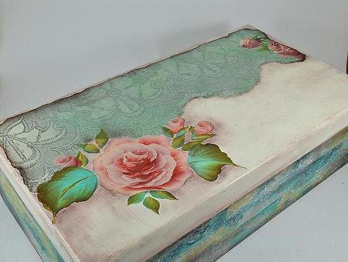 Ξύλινο Κουτί Κοσμηματοθήκη