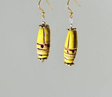 Αρχαϊκά κεραμικά σκουλαρίκια
